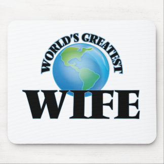 World's Greatest Wife Mousepad