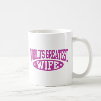 World's Greatest Wife Coffee Mugs