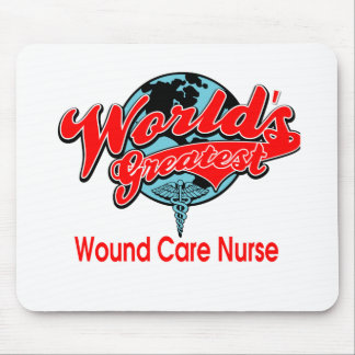 World's Greatest Wound Care Nurse Mouse Pad