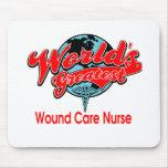 World's Greatest Wound Care Nurse Mousepads