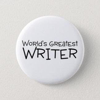 Worlds Greatest Writer Button