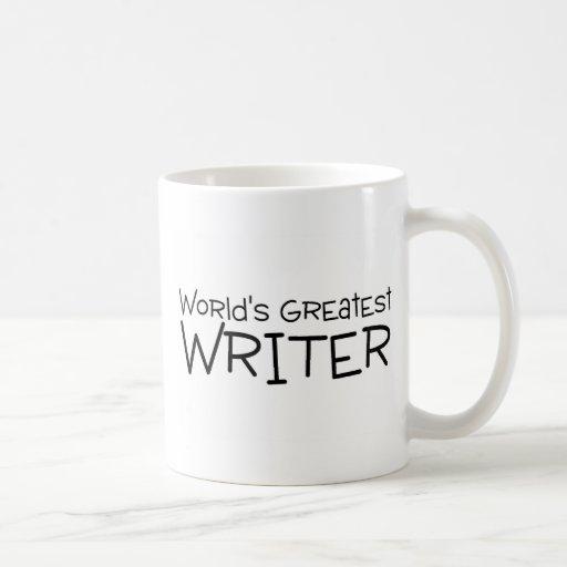 Worlds Greatest Writer Classic White Coffee Mug