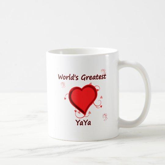 World's Greatest yaya Coffee Mug