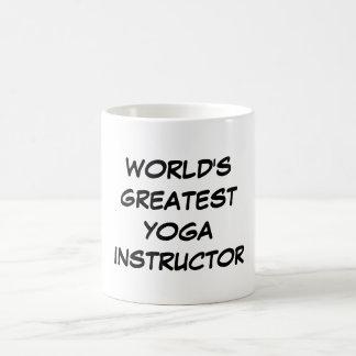 """""""World's Greatest Yoga Instructor"""" Mug"""