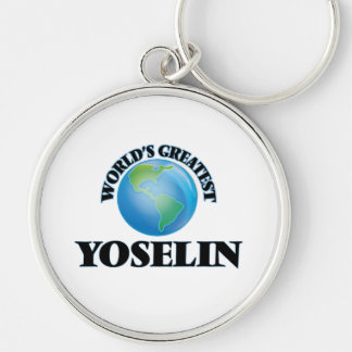 World's Greatest Yoselin Keychains