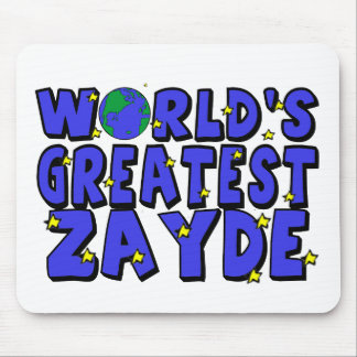 World's Greatest Zayde Mouse Pad