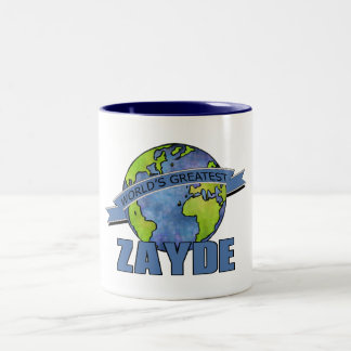 World's Greatest Zayde Two-Tone Coffee Mug