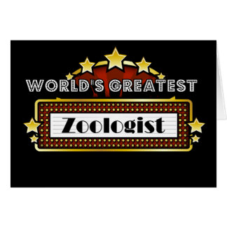 World's Greatest Zoologist Card