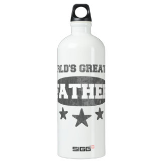 World's Greatet Father (vintage) Aluminum Water Bottle