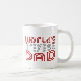 World's GREYEST Dad © - Funny Father Classic White Coffee Mug