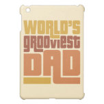 World's Grooviest Dad Retro Funny iPad Mini Covers