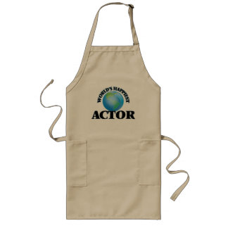 World's Happiest Actor Long Apron