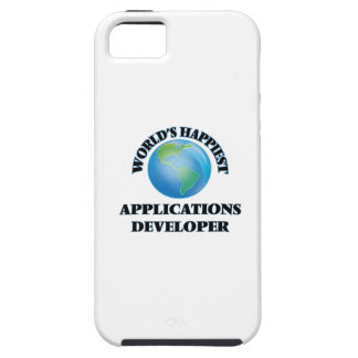 World's Happiest Applications Developer iPhone 5 Cover