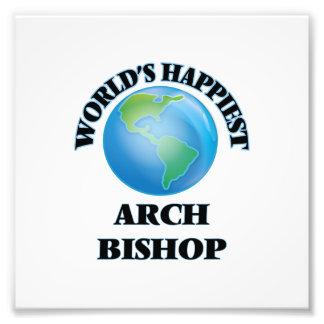 World's Happiest Arch Bishop Photo Print