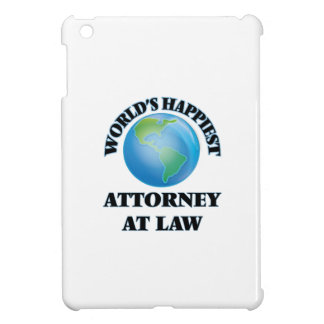 World's Happiest Attorney At Law iPad Mini Covers