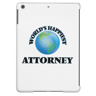 World's Happiest Attorney iPad Air Cover