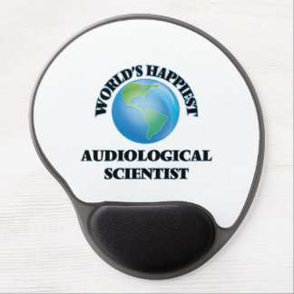 World's Happiest Audiological Scientist Gel Mouse Pad
