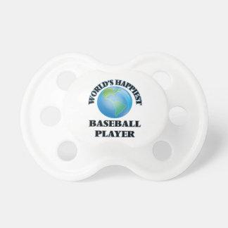 World's Happiest Baseball Player BooginHead Pacifier