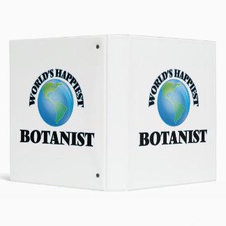 World's Happiest Botanist Vinyl Binders