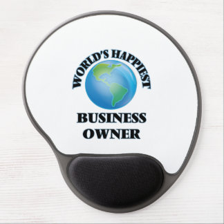 World's Happiest Business Owner Gel Mouse Pad