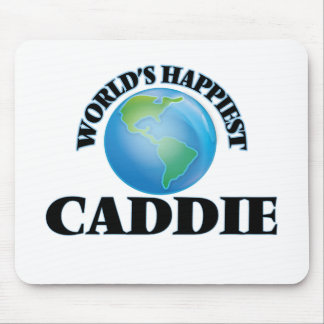 World's Happiest Caddie Mouse Pad
