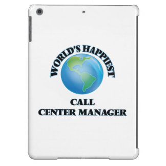 World's Happiest Call Center Manager Case For iPad Air