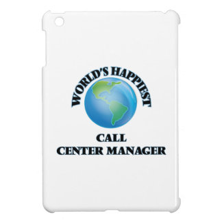 World's Happiest Call Center Manager iPad Mini Covers