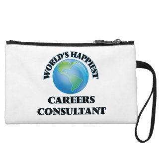 World's Happiest Careers Consultant Wristlet Clutches