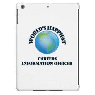 World's Happiest Careers Information Officer Cover For iPad Air