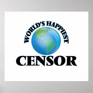 World's Happiest Censor Poster