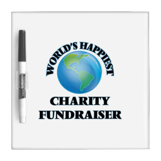 World's Happiest Charity Fundraiser Dry Erase Boards