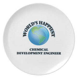 World's Happiest Chemical Development Engineer Plate