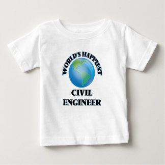 World's Happiest Civil Engineer Infant T-shirt