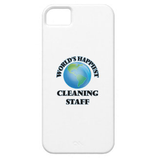 World's Happiest Cleaning Staff iPhone 5 Covers