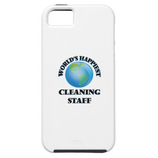 World's Happiest Cleaning Staff iPhone 5 Case