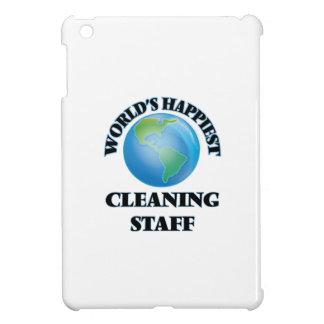 World's Happiest Cleaning Staff iPad Mini Cases