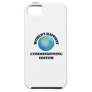 World's Happiest Commissioning Editor iPhone 5 Case