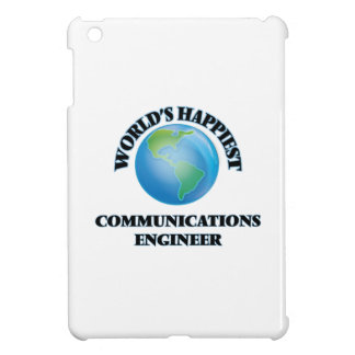World's Happiest Communications Engineer Cover For The iPad Mini