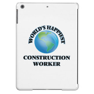 World's Happiest Construction Worker iPad Air Covers