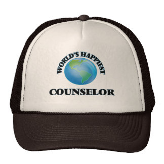 World's Happiest Counselor Trucker Hat