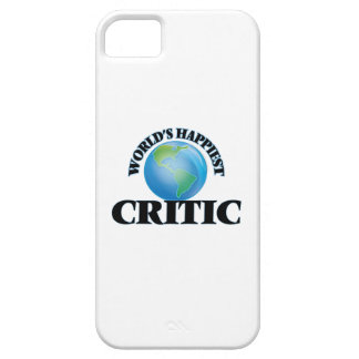 World's Happiest Critic iPhone 5 Cover