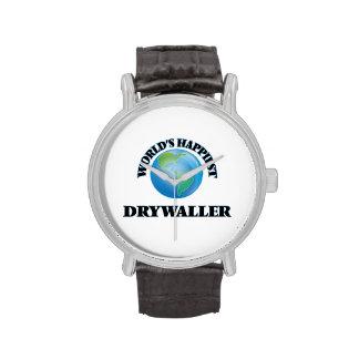 World's Happiest Drywaller Wristwatch