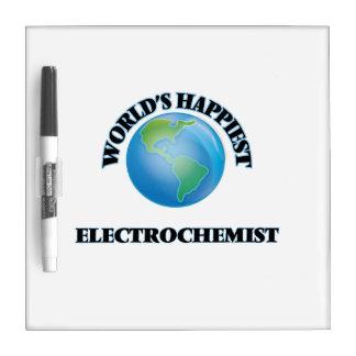 World's Happiest Electrochemist Dry Erase Whiteboards