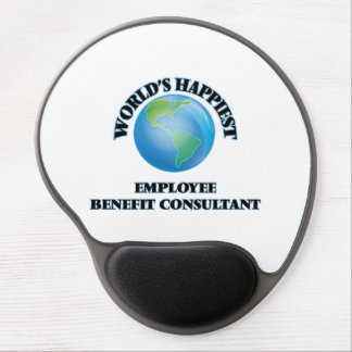 World's Happiest Employee Benefit Consultant Gel Mouse Pad
