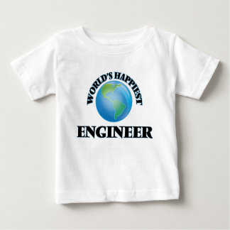 World's Happiest Engineer Infant T-shirt