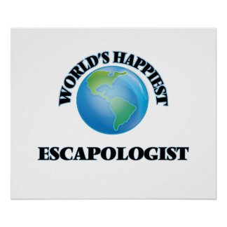 World's Happiest Escapologist Poster