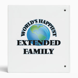 World's Happiest Extended Family Binder