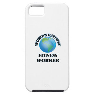 World's Happiest Fitness Worker iPhone 5 Cases