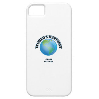 World's Happiest Glass Blower iPhone 5 Case