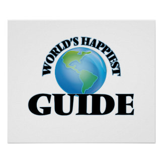World's Happiest Guide Poster